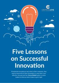 Five Lessons on Successful Innovation