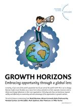 Growth Horizons - Embracing opportunity through a global lens