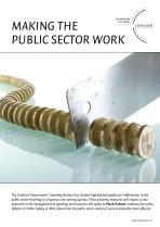 Making the Public Sector Work