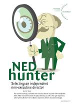 NEDhunter - Selecting an Independent Non-executive Director