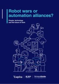 Robot Wars or Automation Alliances