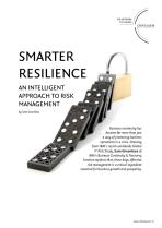 Smarter Resilience - An Intelligent Approach to Risk Management