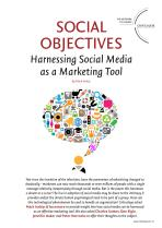 Social Objectives - Harnessing Social Media as a Marketing Tool