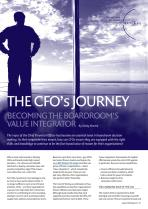 The CFO's Journey - Becoming the Boardroom's Value Integrator