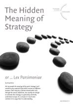 The Hidden Meaning of Strategy