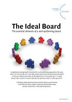 The Ideal Board - the essential elements of a well-performing board