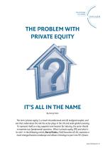 The Problem with Private Equity - It's All in the Name