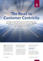 The Road to Customer Centricity