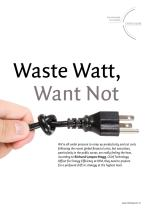 Waste Watt, Want Not