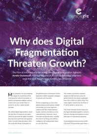 Why does Digital Fragmentation Threaten Growth?