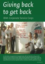 Giving back to get back: IBM's Corporate Service Corps