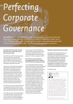 Perfecting Corporate Governance