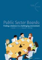 Public Sector Boards: Finding a balance in a challenging environment