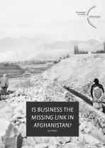Is business the missing link in Afghanistan?