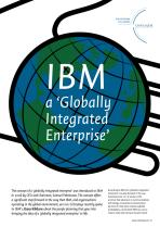 IBM: A 'globally integrated enterprise'