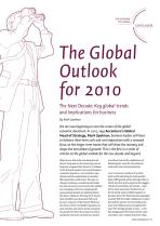 The Global Outlook for 2010